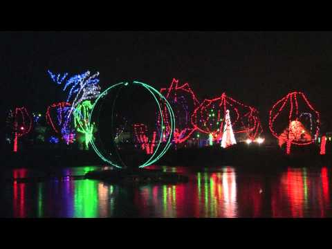 Global Celebrations Holiday Light Show at the Columbus Zoo and Aquarium