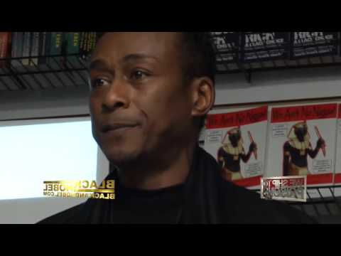 Professor GRIFF's The psycological covert War on hip hop at black and noble in philly