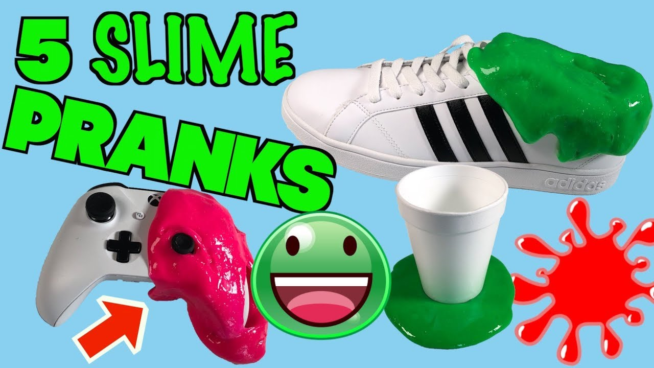 5 Slime Pranks You Can Do At Home on Friends and Family - HOW TO PRANK |  Nextraker