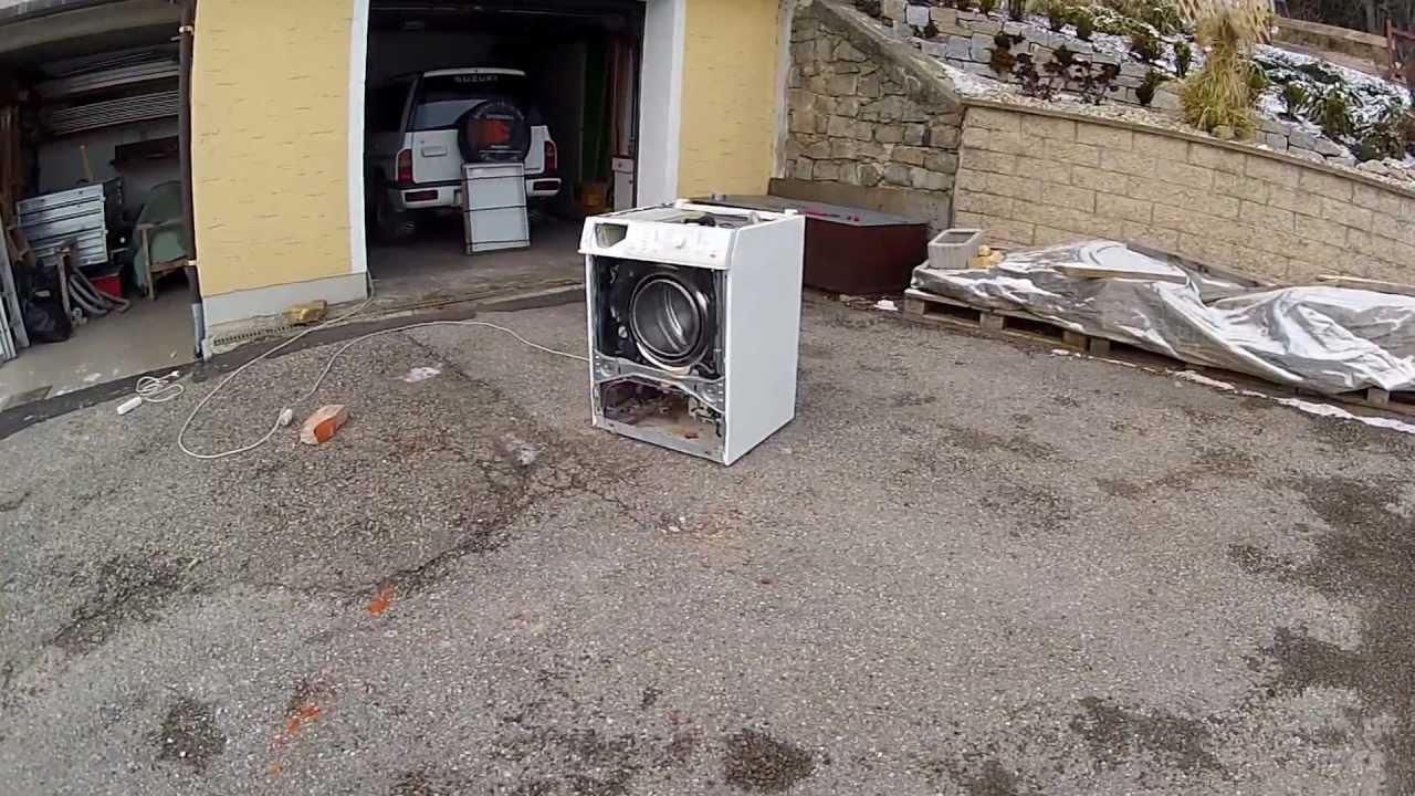 gopro die totale zerst rung der waschmaschine youtube. Black Bedroom Furniture Sets. Home Design Ideas