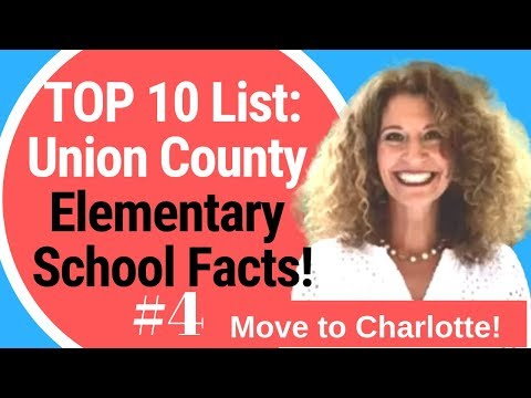 RELOCATING to CHARLOTTE: How are the CHARLOTTE area schools? Union County Elementary School Top 10!