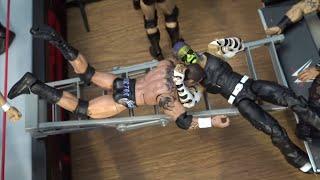 WWE Action Figure Set Up