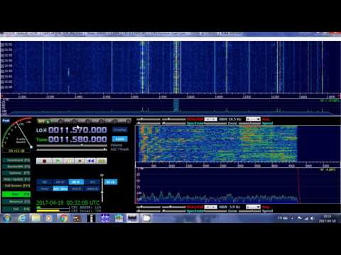 Shortwave A17 highlight North America East Coast Radio Slovakia 0030 UT
