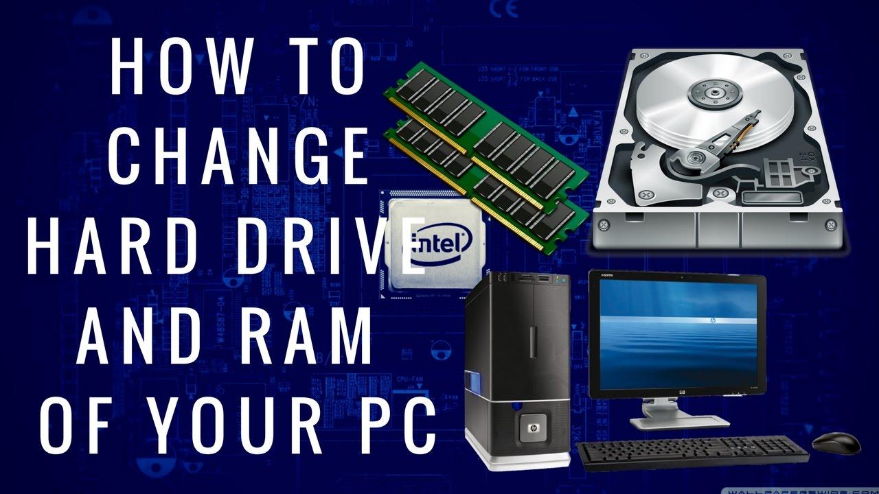 how to change hard drive