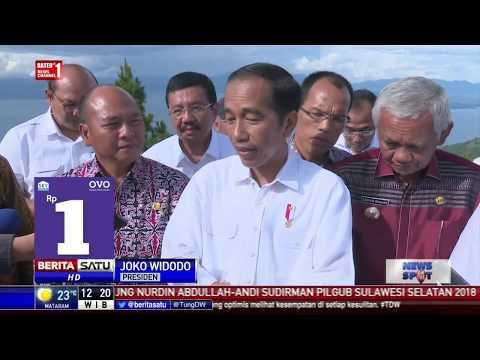 Jalanan di Kota Medan Buruk Buat Jokowi Geram