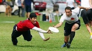 Top 10 Ultimate Frisbee Plays | March 2013