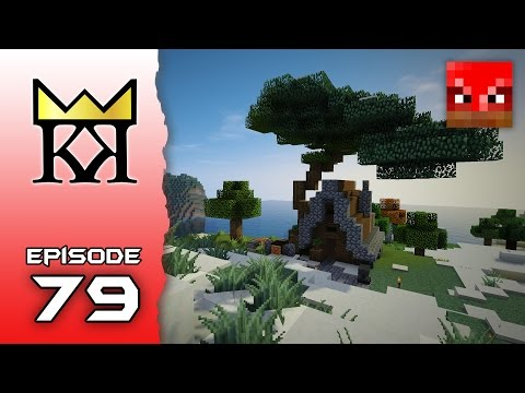 KingKraft Minecraft Let's Play - Ep 79: CUSTOM TREE SHOP