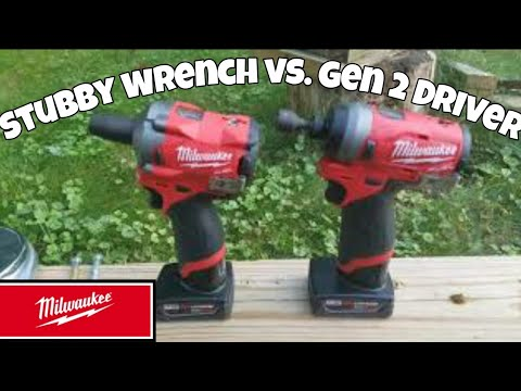 Milwaukee M12 Fuel Stubby Impact Wrench vs.Milwaukee M12 Fuel Gen 2 Impact Driver Face Off
