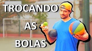 TROCANDO AS BOLAS #1 (Futebol Freestyle)