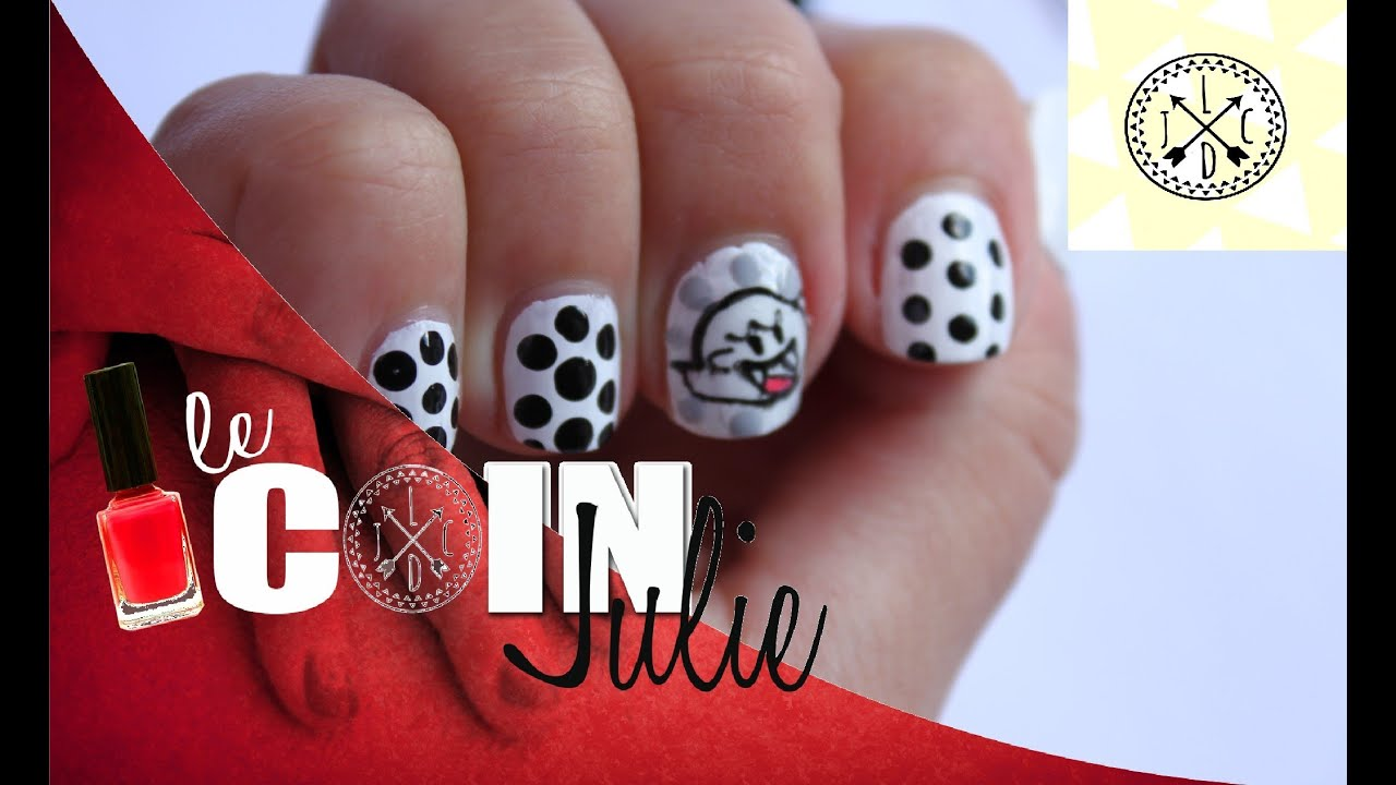 faire ses stickers nail art boo lecoindejulie youtube. Black Bedroom Furniture Sets. Home Design Ideas