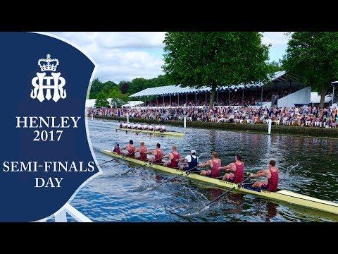 Semi-Finals Day - Full Replay | Henley Royal Regatta 2017