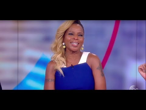 Mary J. Blige On SNL's Spoof Of 'Lion King' Auditions, 'Mudbound' And More | The View