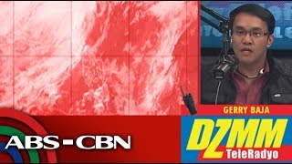 DZMM TeleRadyo: It's a rainy Thursday in Metro Manila, Luzon areas