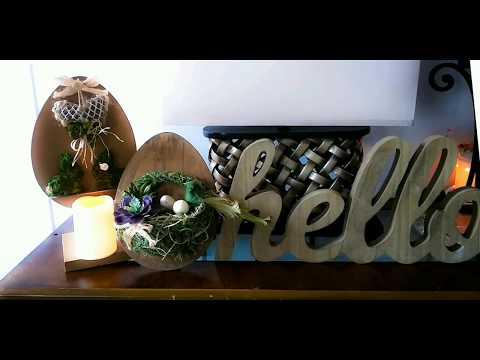 Dollar tree DIY Easter/spring /farmhouse decorations