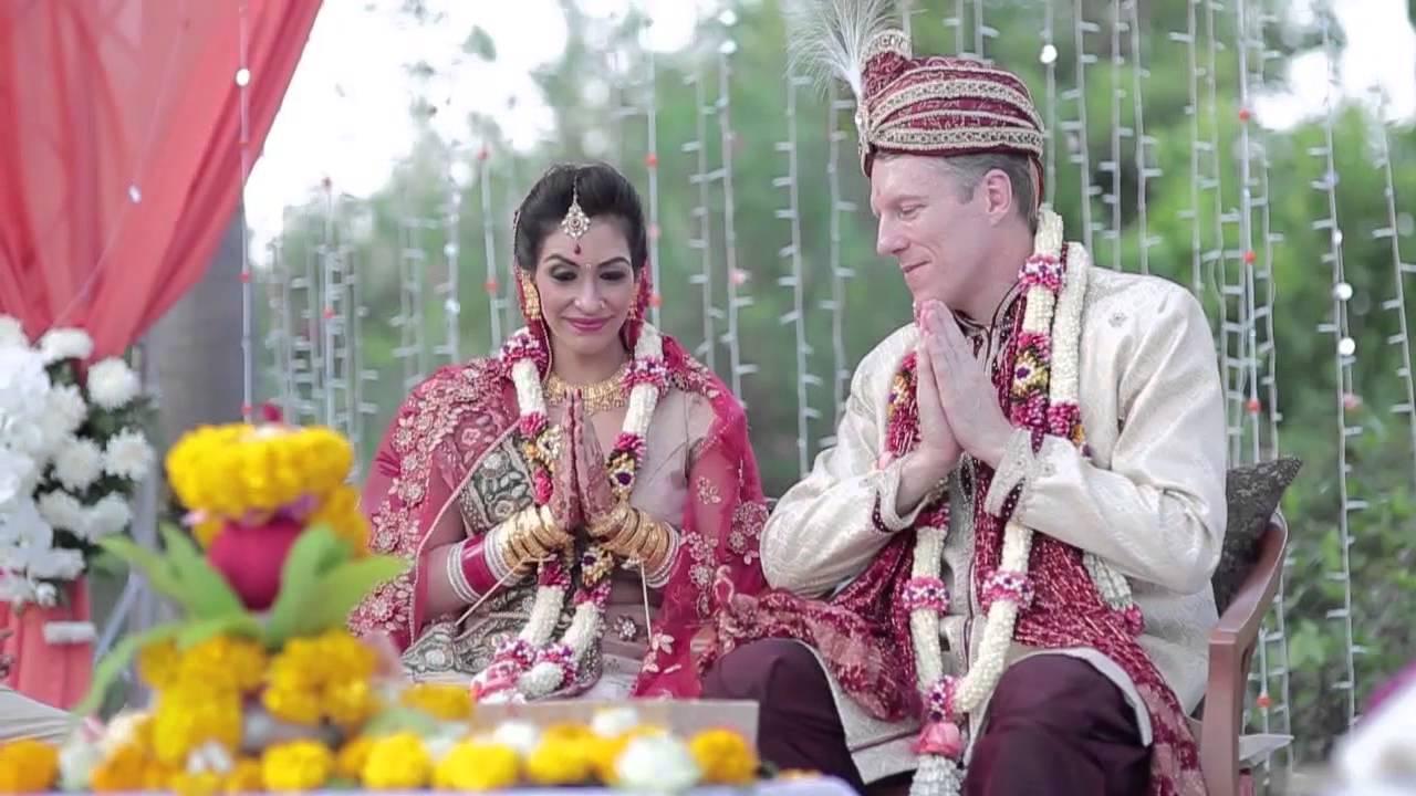 Anju And Mark Hindu Wedding Video