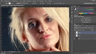 Видео уроки Photoshop – Ретушь студийного снимка в фотошоп