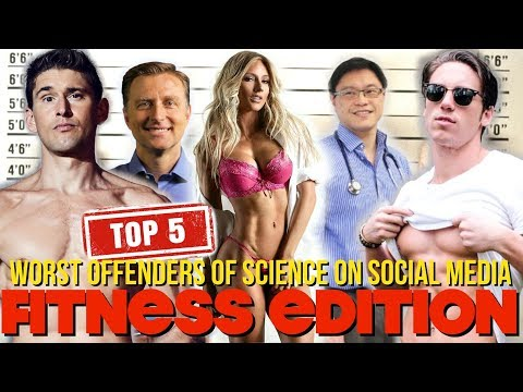Top 5 Worst Offenders of Science on Social Media Fitness industry edition