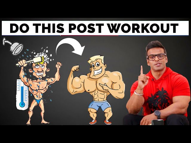 7 Best Things You Should Do After Workout | Get Fast Recovery and Muscle Gain | Yatinder Singh