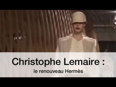 Christophe Lemaire  le renouveau Hermès