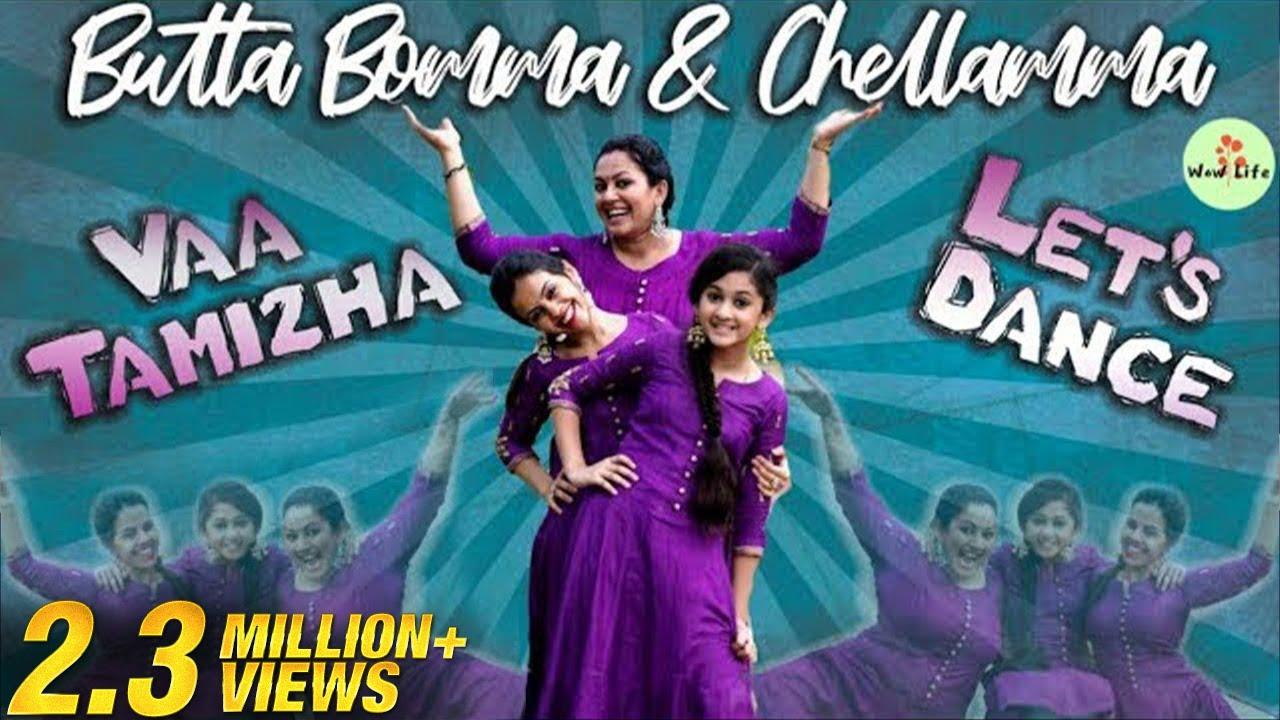 Butta Bomma & Chellamma   வா தமிழா... Let's Dance #2   Wow Life