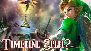 Zelda: Breath of the Wild - Timeline Split Theory