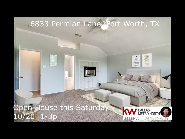6833 Permian Lane, Fort Worth, TX 76137   Fossil Park Subdivision