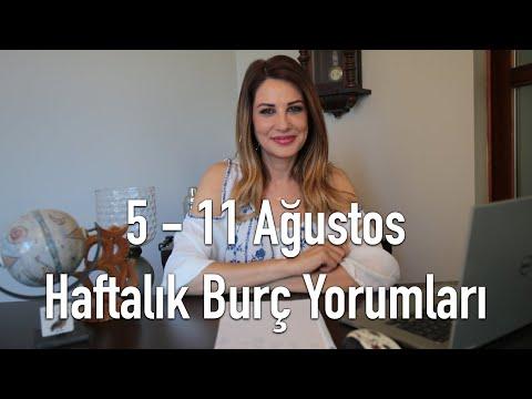 5 - 11 Ağustos Haftalık Burç Yorumları - Hande Kazanova ile Astroloji