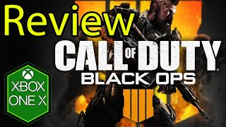 Call of Duty Black Ops 4 Xbox One X Gameplay Review