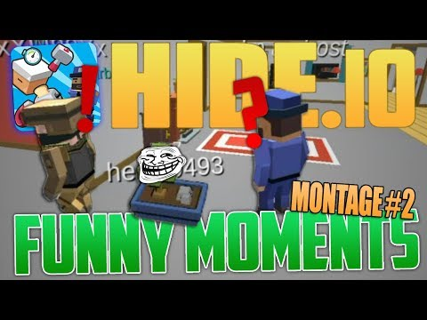 Hide.io - Funny Moments Montage #2