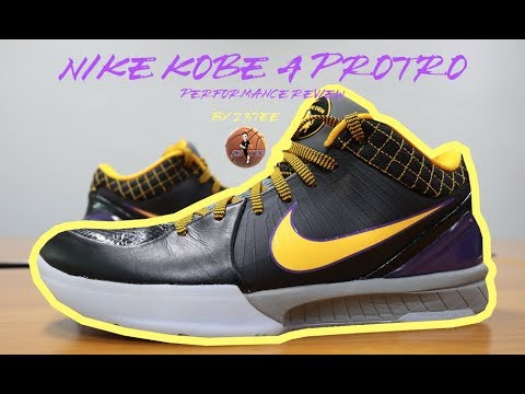 Nike KOBE 4 Protro Performance Review (Thai + Eng Sub)