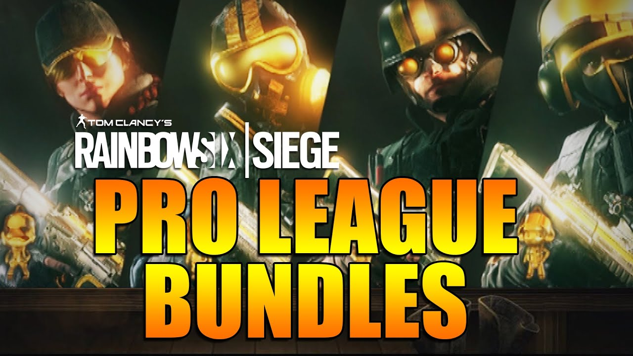 Rainbow Six Siege - In Depth: PRO LEAGUE BUNDLES