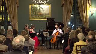 Omega Ensemble - Trio No  4 in B flat Major, Op  11 II  Adagio, III  Tema con Variazioni - Beethoven