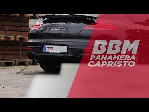 Porsche Panamera Capristo Auspuff Sound by BBM