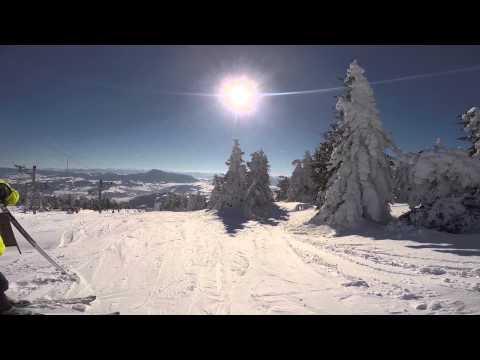 SKI PARK Kubinska Hola 2015 Awesome Skiing in Slovakia