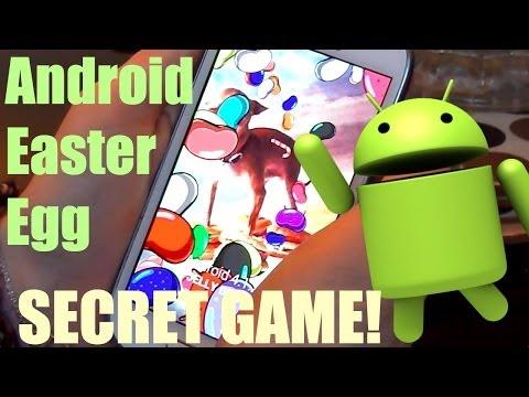 Android Easter Egg | Secret Game!