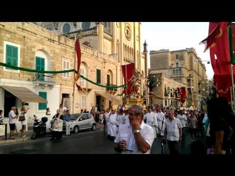 Festa of Our Lady of Mount Carmel in St Julian's, Malta