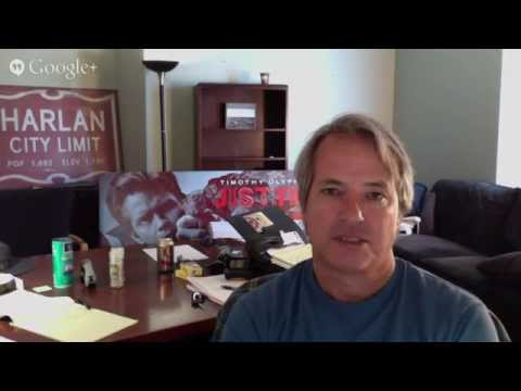 'Justified' creator Graham Yost on pressure 'to end a series well' Exclusive Video