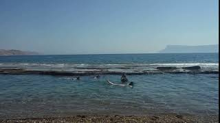 learning to snorkel in viglia beach