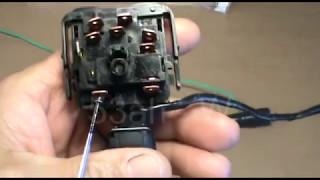 Проверка переключателя стеклоочистителя ВАЗ, передний привод.