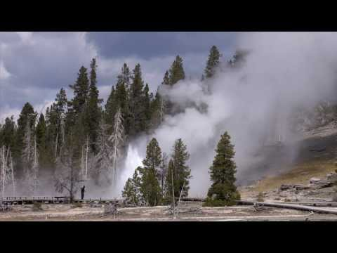 Minute Out In It: Grand Geyser