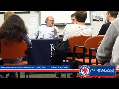 A Conversation with Richard Norton-Taylor