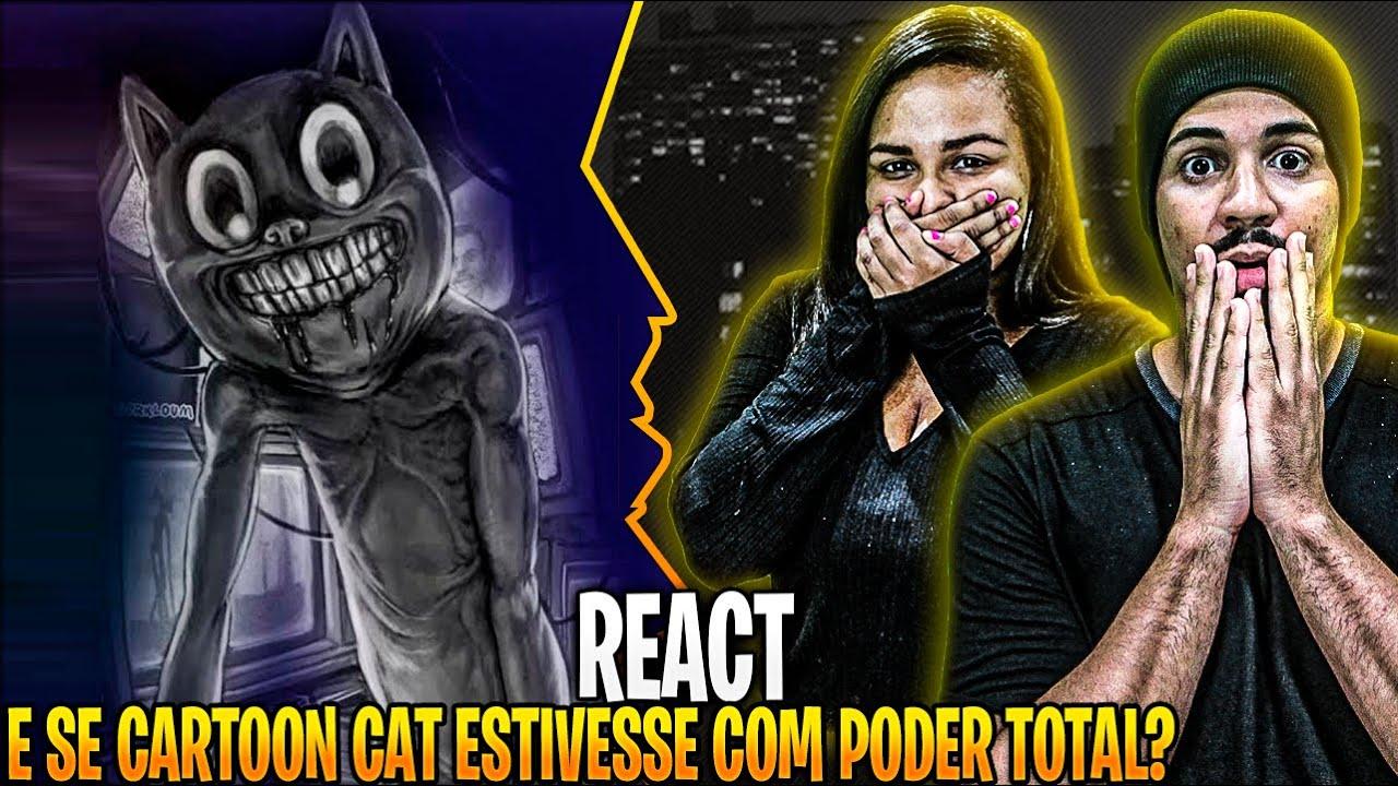 REAGINDO: E se Cartoon Cat Estivesse com PODER TOTAL? | VIRALQUEST VQ