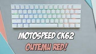 Motospeed CK62 Mechanical Keyboard Review + Layer FIX!