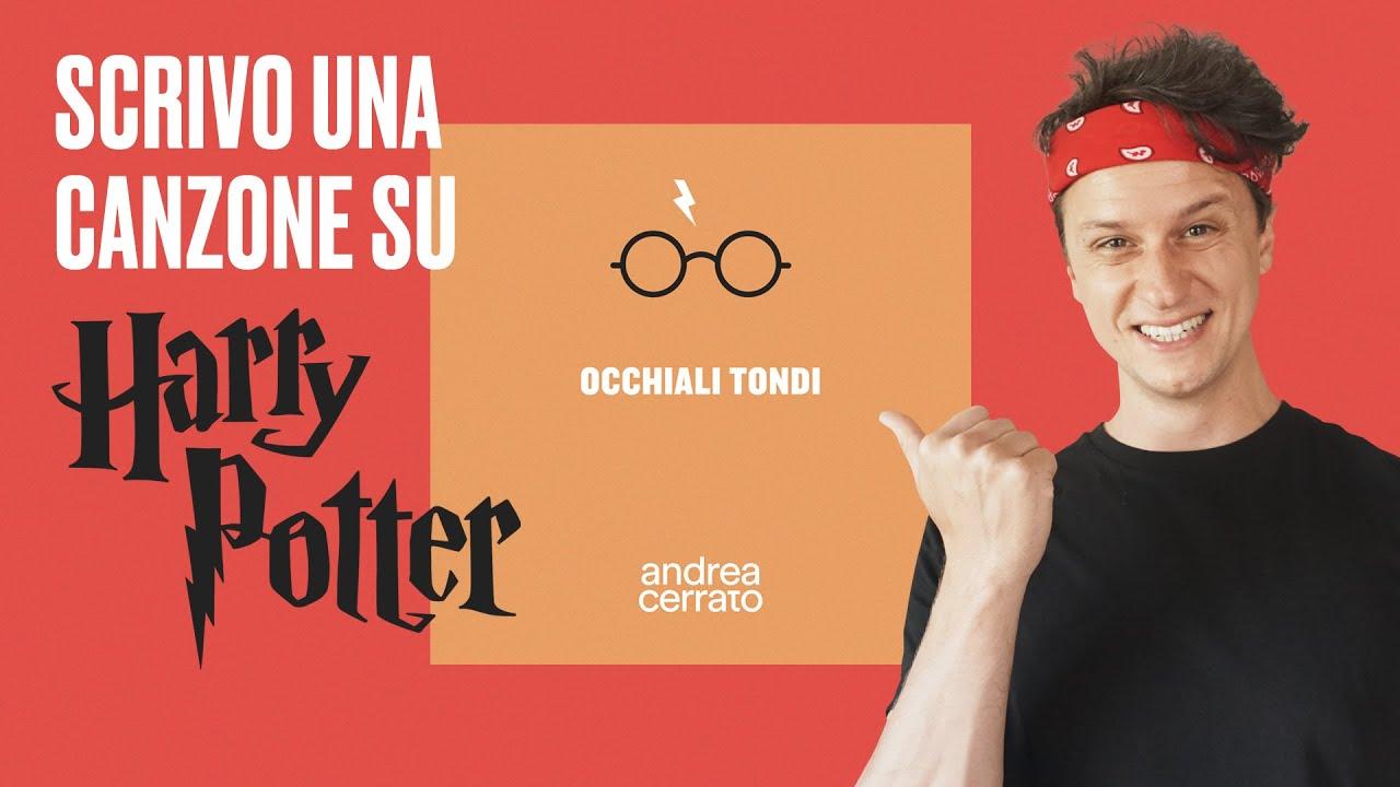Una canzone su HARRY POTTER 🧙♂️ Occhiali tondi