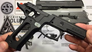 Sig Sauer P226 disassembly