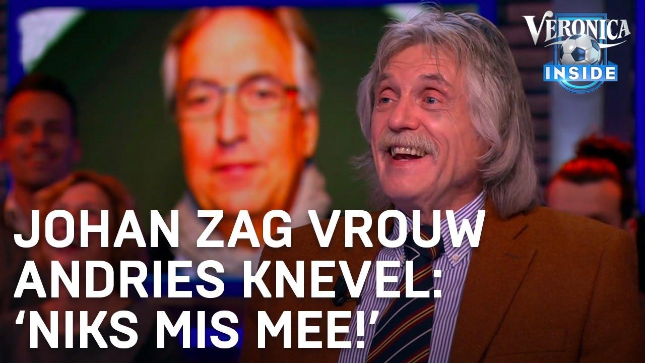 Johan Zag Vrouw Van Andries Knevel Niks Mis Mee Veronica Inside