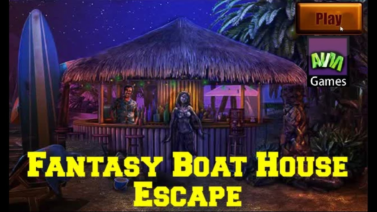 Avm fantasy boat house escape walkthrough youtube for Minimalistic house escape 5 walkthrough