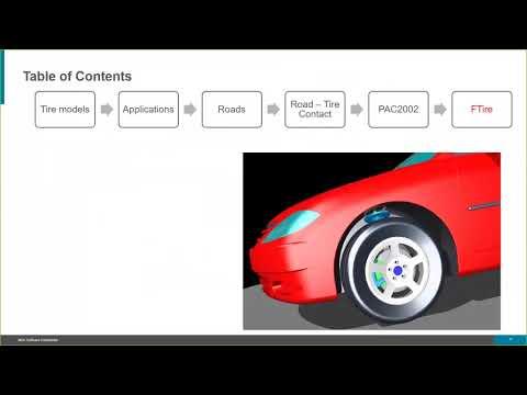 Webinar- Tire Modeling In Adams Using FTire And PAC2002