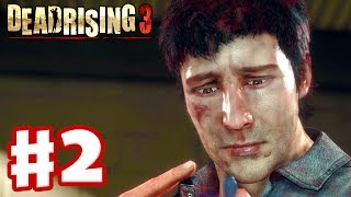 Dead Rising 3 - Gameplay Walkthrough Part 2 - Lots of Zombies! (Xbox One Day One 2013)