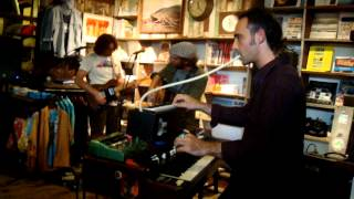 Neil Halstead -- Seasons [7/15] LIVE @ Mollusk Surf Shop, Venice Beach CA 05-8-2012